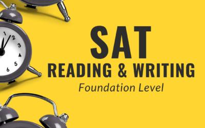 SAT Reading & Writing Foundation