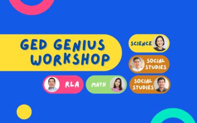 GED Genius Workshop