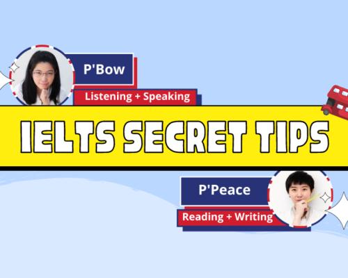 IELTS Secret Tips Workshop