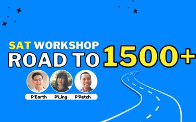 SAT Workshop: Road to 1500+