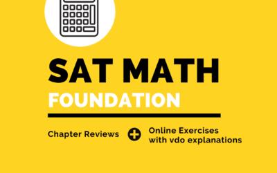 SAT Math Foundation