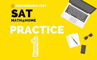 SAT Math Practice 1