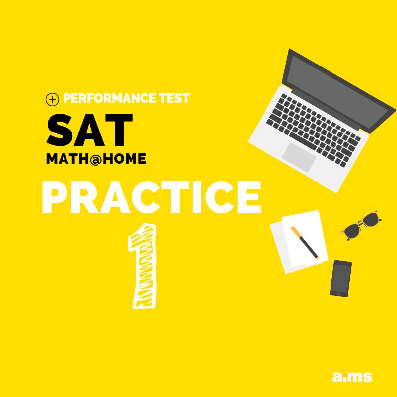 SAT Math at home practice 1
