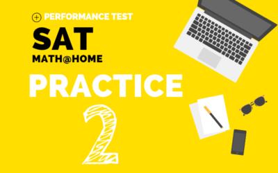 SAT Math Practice 2