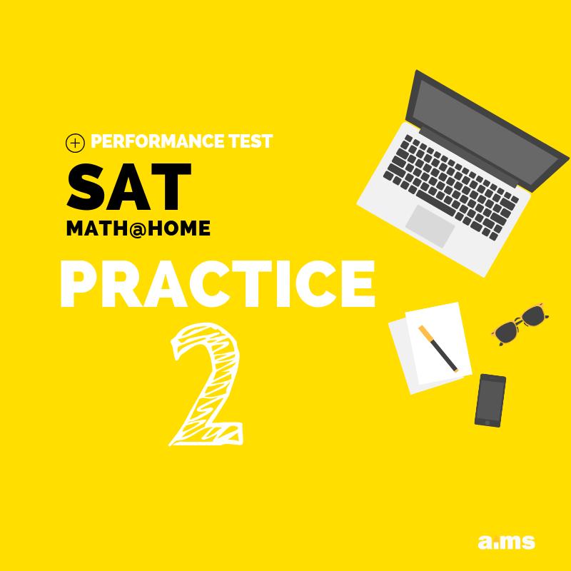SAT Math at home practice 2