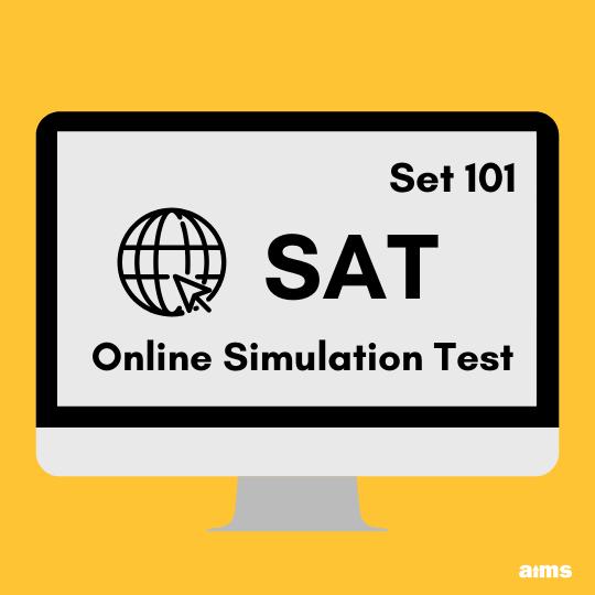 SAT Online Simulation Test_101