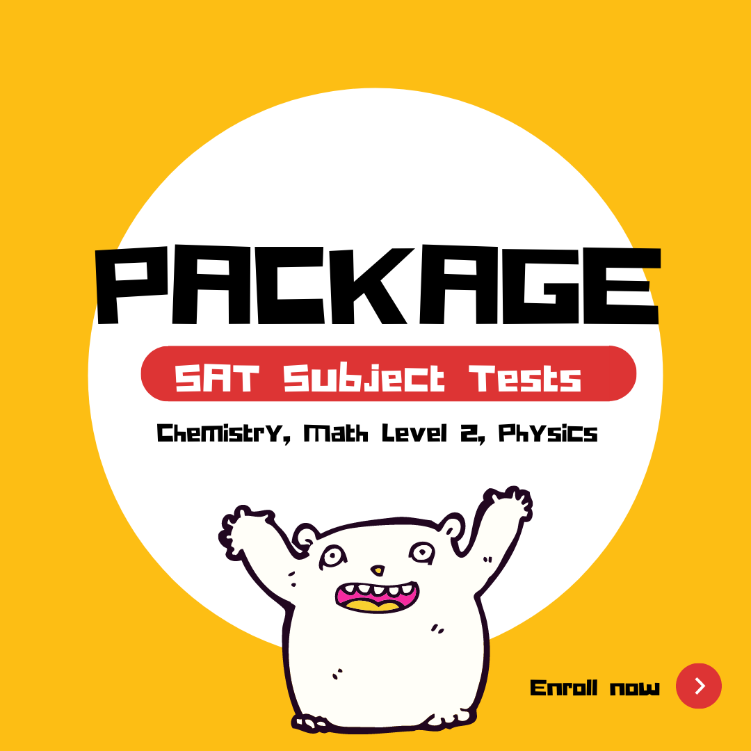 SAT Subject Test Package (2)